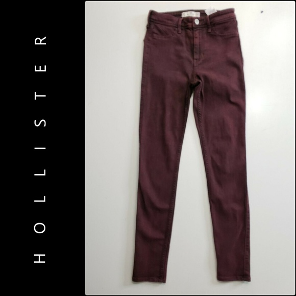 Hollister Denim - Hollister Women Skinny Jeggings Jeans Size 26